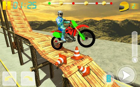 MotoBike Stunt Track: Impossible Mission screenshot 8