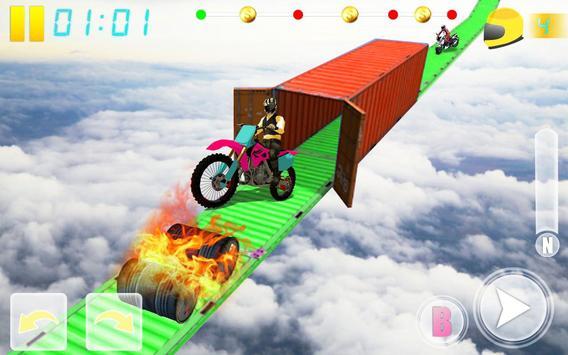 MotoBike Stunt Track: Impossible Mission screenshot 9