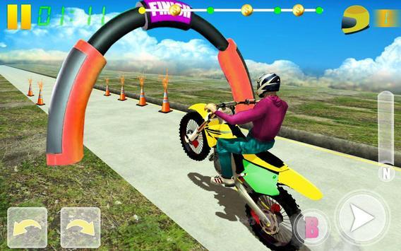 MotoBike Stunt Track: Impossible Mission poster