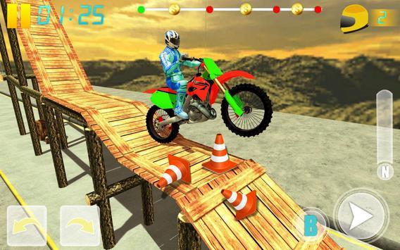 MotoBike Stunt Track: Impossible Mission screenshot 13