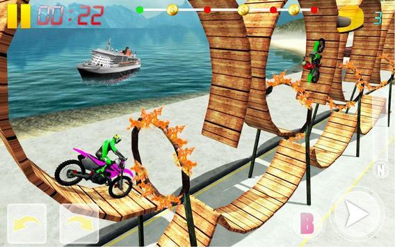 MotoBike Stunt Track: Impossible Mission screenshot 17