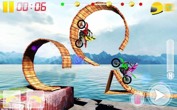 MotoBike Stunt Track: Impossible Mission screenshot 1