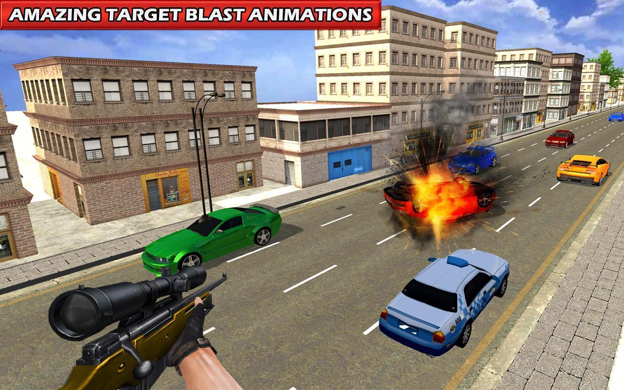 Sniper Menembak Polisi Kota Rahasia For Android Apk Download 04 Senjata Screenshot 4