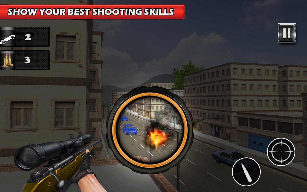 Sniper Menembak Polisi Kota Rahasia For Android Apk Download 04 Senjata Screenshot 7