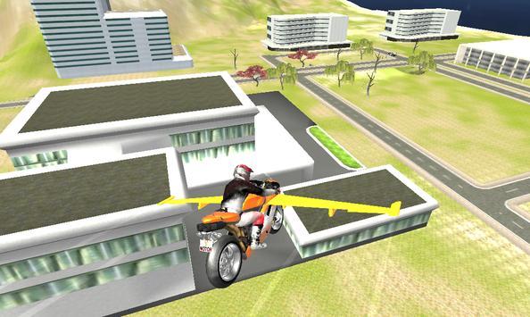 Flying Bike Air Rider apk screenshot