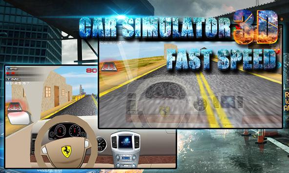 3D Car Simulator: Fast Speed screenshot 8