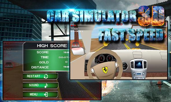 3D Car Simulator: Fast Speed screenshot 9