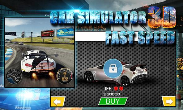 3D Car Simulator: Fast Speed screenshot 12