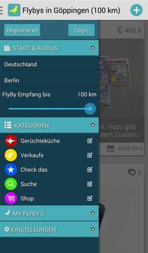 FlyBy - Die App für alle Fälle apk screenshot