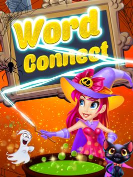 word connect puzzle poster