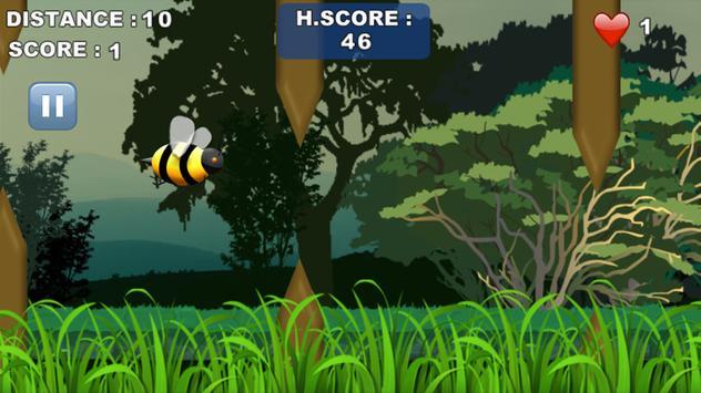 Flappy Bee: Fly Bee Fly apk screenshot
