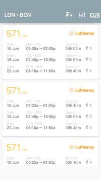 FlyBigger Super cheap flights apk screenshot