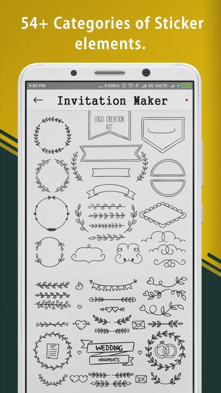 Invitation card creator maker para android apk baixar invitation card creator maker cartaz invitation card creator maker imagem de tela 1 stopboris Image collections