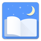 Moon+ Reader (8th anniversary, Pro 50% OFF)-icoon