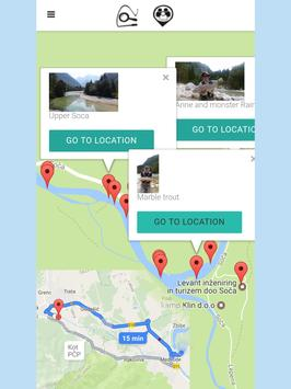 Fly fishing application screenshot 10