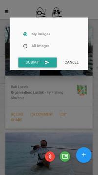 Fly fishing application screenshot 3