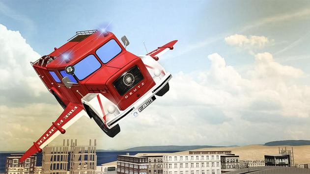 Flying Firefighter Truck 2016 poster
