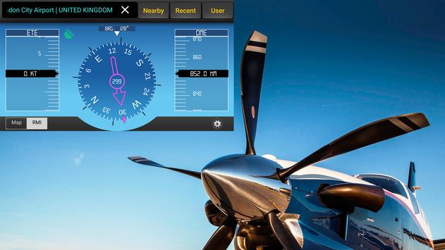 Direct To - Aviation GPS poster