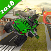 Flying Monster Truck games icon