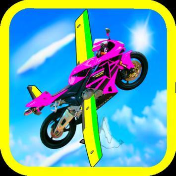 Flying Motorcycle Simulator 3D poster