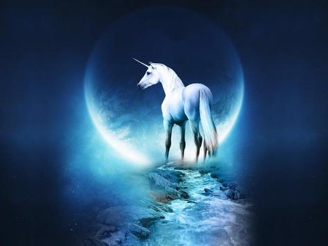Unicorn Wallpaper HD Poster