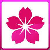 Photo Frame Sakura Flower icon