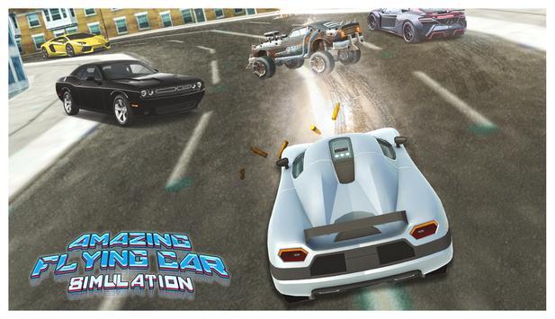 Futuristic Flying Cars Shooting Tussle apk screenshot