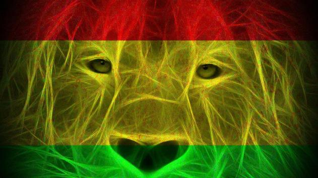 Rasta Lion Live Wallpaper Poster