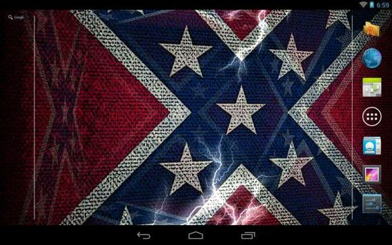 3d rebel flag live wallpaper apk download free personalization app