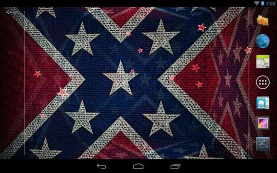 3d Rebel Flag Live Wallpaper Apk Download Free Personalization App