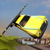 Flying Limo Car Simulator icon