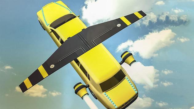 Flying Limo Car Simulator poster