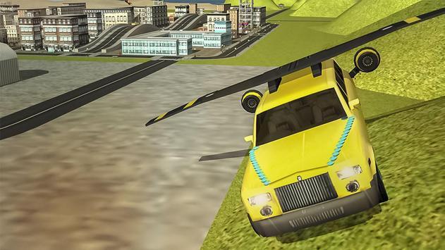 Flying Limo Car Simulator screenshot 2