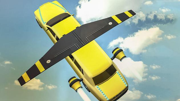 Flying Limo Car Simulator screenshot 6
