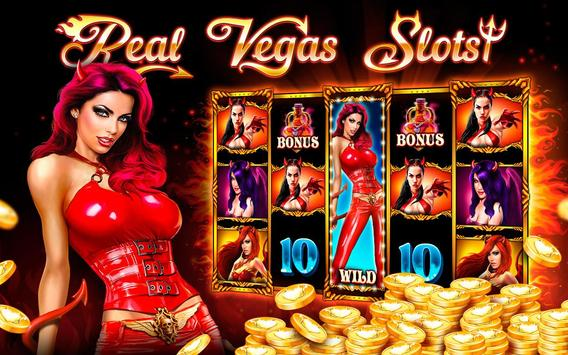 Slots Casino Demons of Luck poster