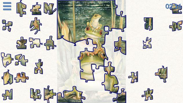 Safari Jigsaw animal puzzles screenshot 9