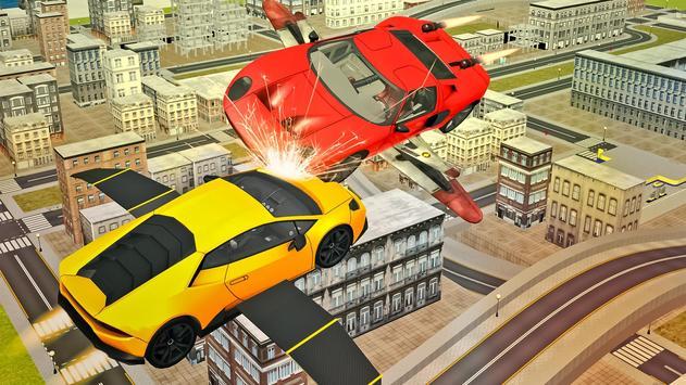 Flying Sport Car Simulator2016 apk screenshot
