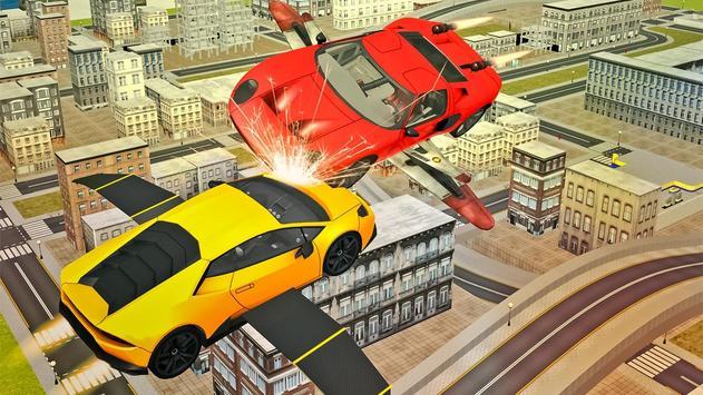 Flying Sport Car Simulator2016 poster