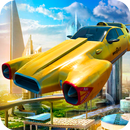 Flying taxi simulator APK