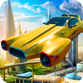 Flying taxi simulator 图标