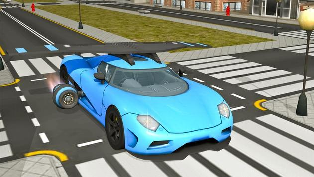 Flying Car- Vehicle Driving 3d apk screenshot