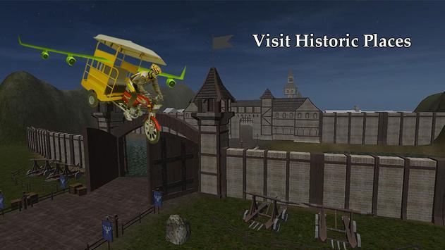 Flying Tuk Tuk Simulator 3D apk screenshot