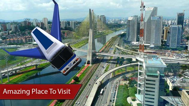 Flying Bus Simulator 3D 2017 apk screenshot