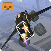 Flying Monster Truck VR icon