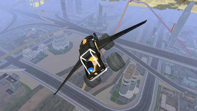 Flying Monster Truck VR apk screenshot