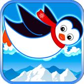 Fly Penguin Frozen Mountain icon