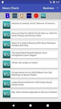 NewsCheQ screenshot 1
