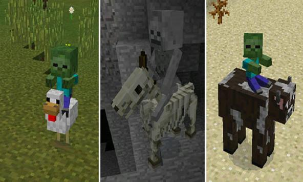 MOD MORE Rider for MCPE poster