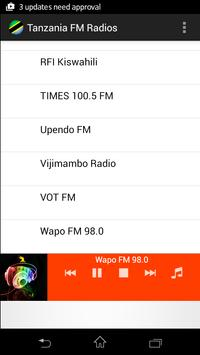 Tanzania FM Radios apk screenshot