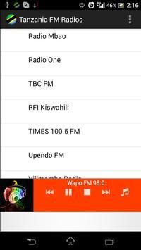 Tanzania FM Radios poster